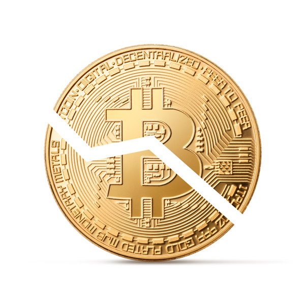 A Bitcoin split in two