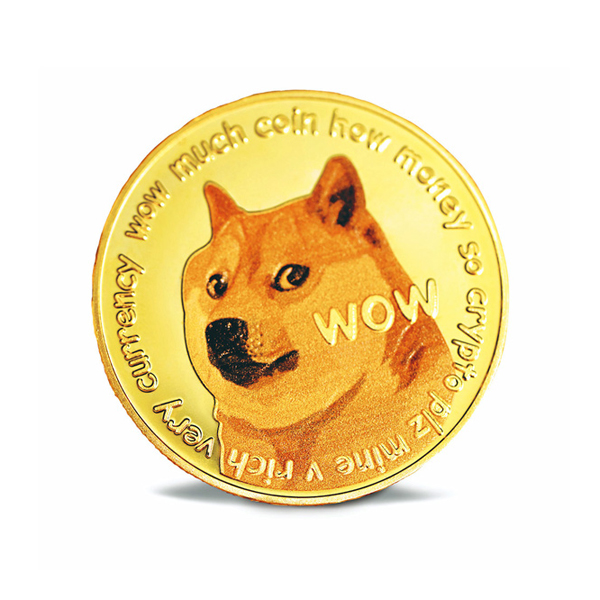 The Dogecoin logo