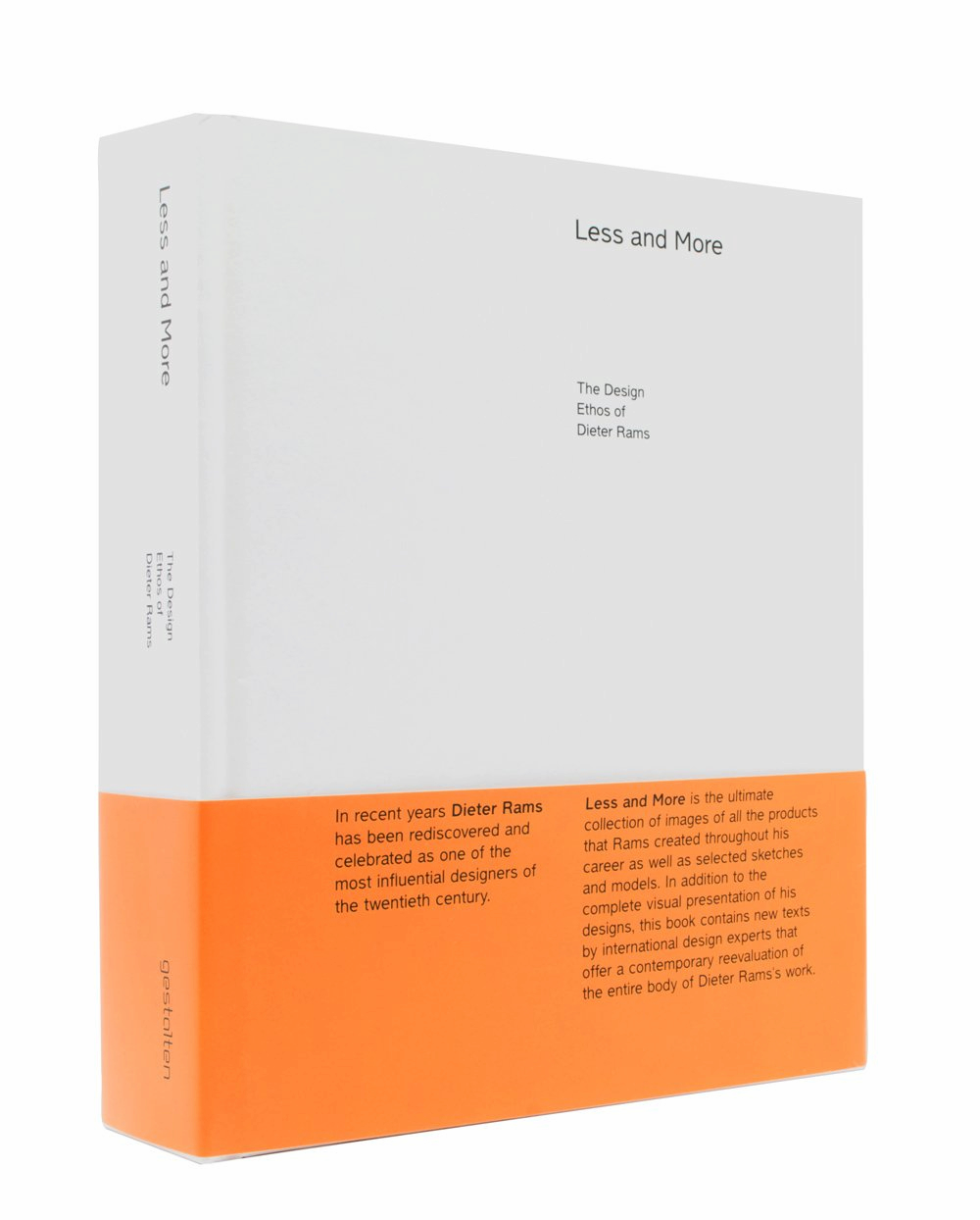 Less and More by Dieter Rams