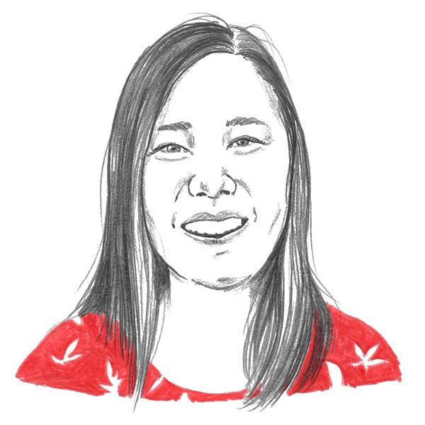 An illustration of Traction on Demand's Megumi Mizuno