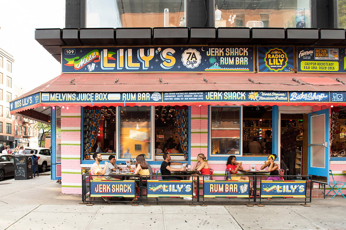 Miss Lily's restaurant in New York